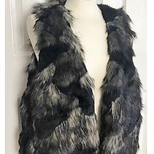 Forever 21 Faux Fur Vest 3X